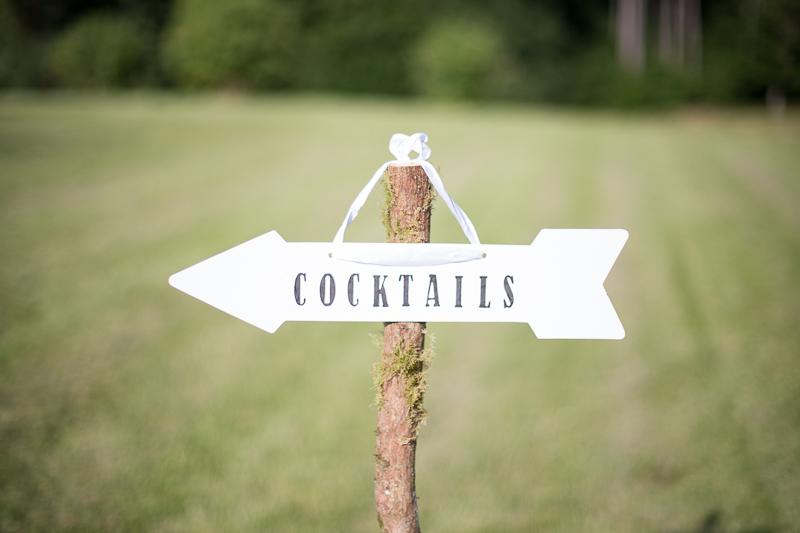panneau cocktails